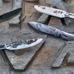 Nože vykované z klíčů BAHCO